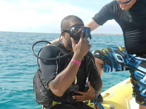 Aruba certified scuba dive Cruise Excursion