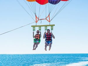 Grand Cayman Parasailing at Seven Mile Beach Excursion
