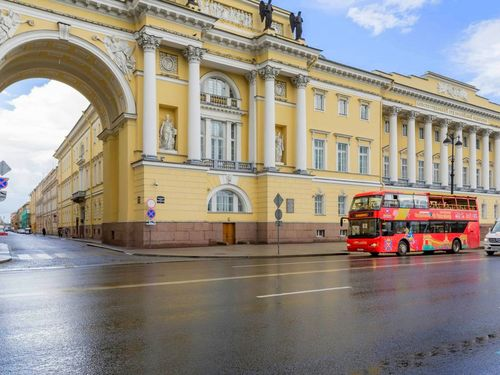St. Petersburg Russia bus sightseeing Shore Excursion Reviews