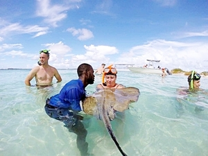 Grand Turk Highlights Sightseeing and Stingray Snorkel Excursion