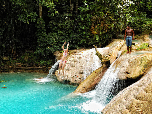 Falmouth Jamaica Dunn's River Falls Tubing Tour Cost