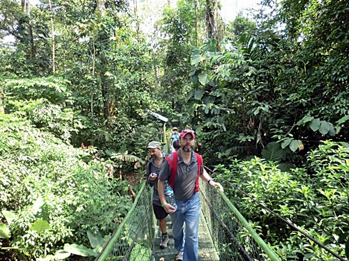 Puntarenas Costa Rica suspension bridges Shore Excursion Prices