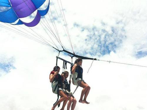Freeport Bahamas lucaya parasailing Cruise Excursion Reviews