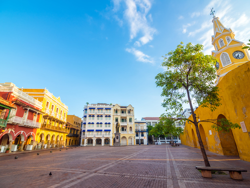Cartagena Colombia city sightseeing Excursion Booking