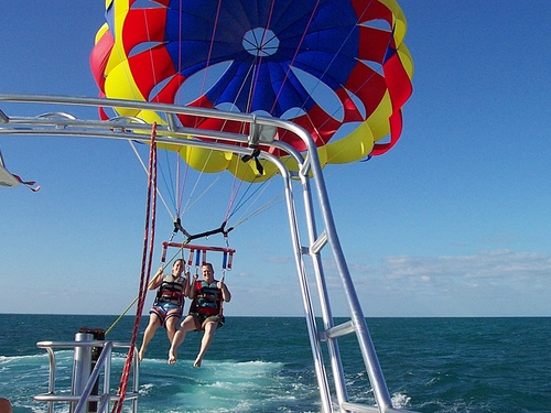 Freeport Bahamas beach parasailing Tour Prices