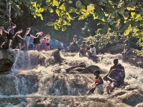 Ocho Rios Jamaica Falls River Tube Tours Booking
