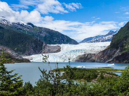 Juneau Alaska canoeing mendenhall glacier Cruise Excursion Reservations