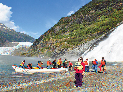 Juneau guided mendenhall glacier Shore Excursion Cost