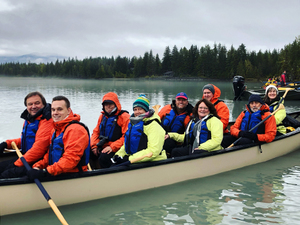 Juneau Small Group Explore Mendenhall Lake Canoe Excursion