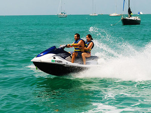 Key West Catamaran Sail, Snorkel and Watersports Combo Excursion