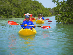 Key West Island Ting Adventure Sail, Snorkel and Kayak Excursion
