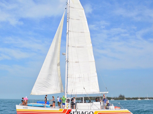 Key West catamaran sail Trip Cost