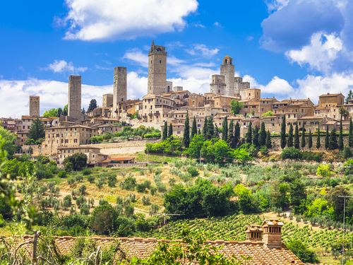 Livorno / Florence Italy Gimignano Cruise Excursion Reservations