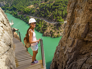 Malaga Caminito del Rey Hiking Excursion