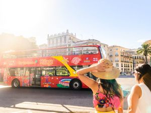 Malaga Hop On Hop Off City Sightseeing Bus Excursion