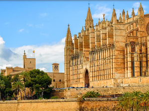 Mallorca Palma City Sightseeing One Day Hop On Hop Off Bus Excursion