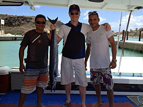 Curacao private fishing charter Trip Booking