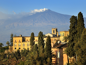 Messina Private Mount Etna and Taormina Excursion