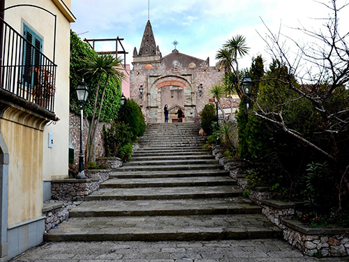 Messina Sicily Church of St Agostino Movie Shore Excursion Prices