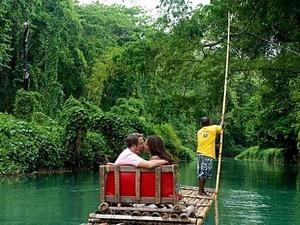 Montego Bay Martha Brae Bamboo Rafting and Montego Bay Sightseeing Excursion