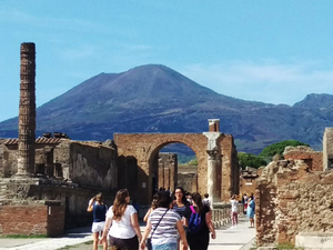 Naples Full Day Pompeii and Herculaneum Excursion