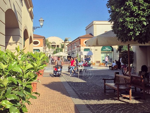 Naples  Italy Designer Clothes Shopping Trip Cost