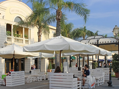 Naples  Italy La Reggia Outlet Shopping Trip Tickets