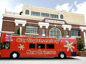 New Orleans City Hop On Hop Off Bus Sightseeing Excursion