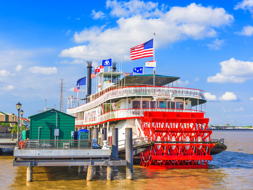New Orleans  Louisiana / USA Natchez steamboat Shore Excursion Prices