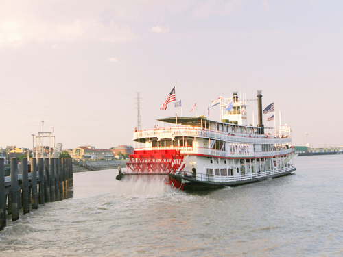 New Orleans  Louisiana / USA Natchez steamboat Shore Excursion Reservations