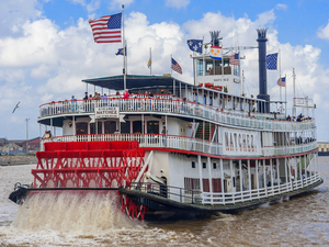 New Orleans Steamboat Natchez Harbor Cruise Excursion