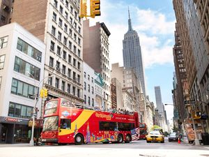 New York City Hop On Hop Off Bus Sightseeing Excursion