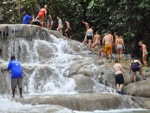 Ocho Rios Highlights, Shopping and Dunn's River Falls Excursion
