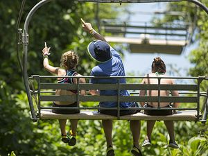 Ocho Rios Mystic Mountain Combo: Sky Explorer Chairlift, Bobsled and Zip Line Excursion