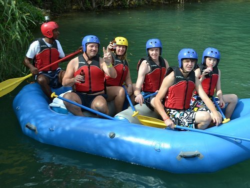 Ocho Rios river rafting Tour Reservations