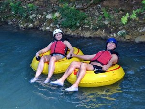 Ocho Rios River Tubing and Private Beach Excursion