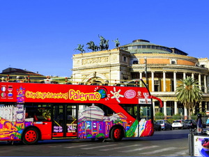Palermo City Sightseeing Hop On Hop Off Bus Excursion