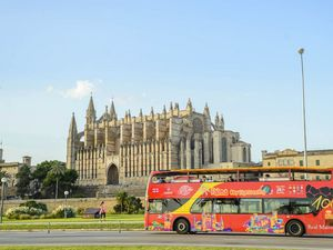 Palma de Mallorca City Hop On Hop Off Bus and Boat Excursion