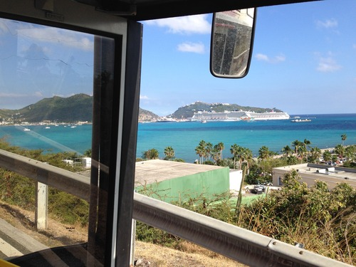 St. Martin open top bus Cruise Excursion Reservations