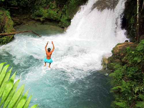 Falmouth Jamaica blue hole Cruise Excursion Reservations