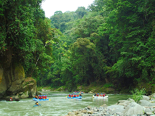 Puerto Limon Costa Rica Waterfalls Rafting Trip Tickets