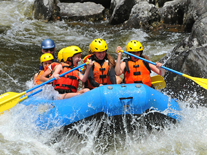 Puerto Limon Pacuare River White Water Rafting and Lunch Excursion
