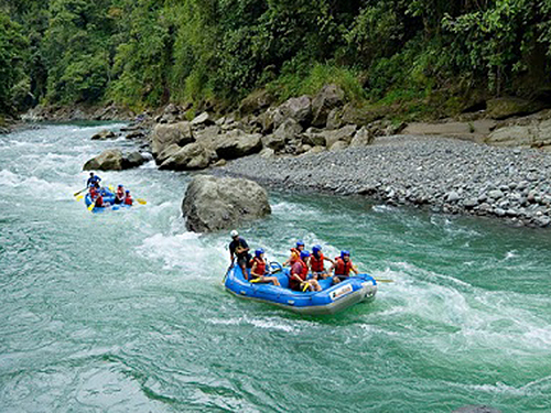 Puerto Limon Whitewater Rafting Shore Excursion Booking