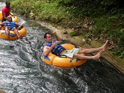 Ocho Rios Jamaica Falls  White River Tubing Shore Excursions Booking