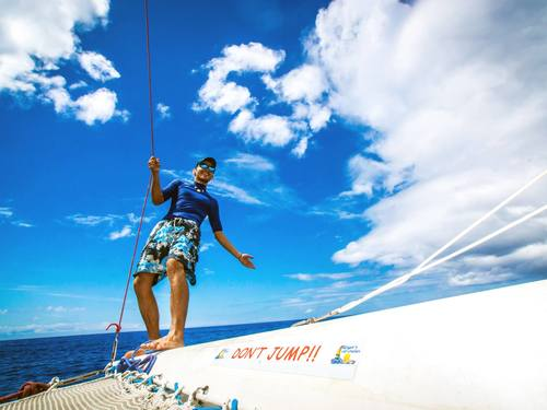 Roatan Honduras Sail and Snorkel Snorkel Cruise Excursion Booking
