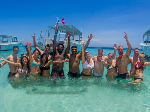 Roatan Honduras Swimming Cruise Excursion Cost