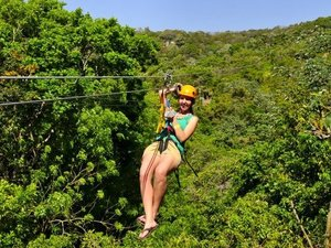 Roatan Jungle Zip Line Adventure Excursion