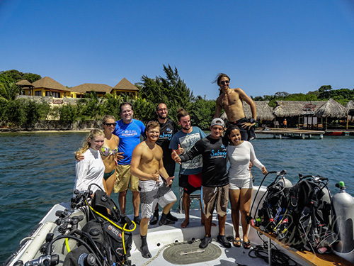 Roatan SCUBA Diving Diving Shore Excursion Reservations
