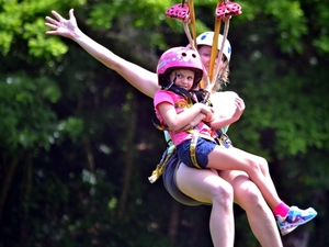 Roatan Zipline, Horseback Ride and Snorkel Combo Excursion