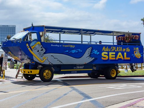 San Diego amphibious vehicle SEAL Excursion Booking
